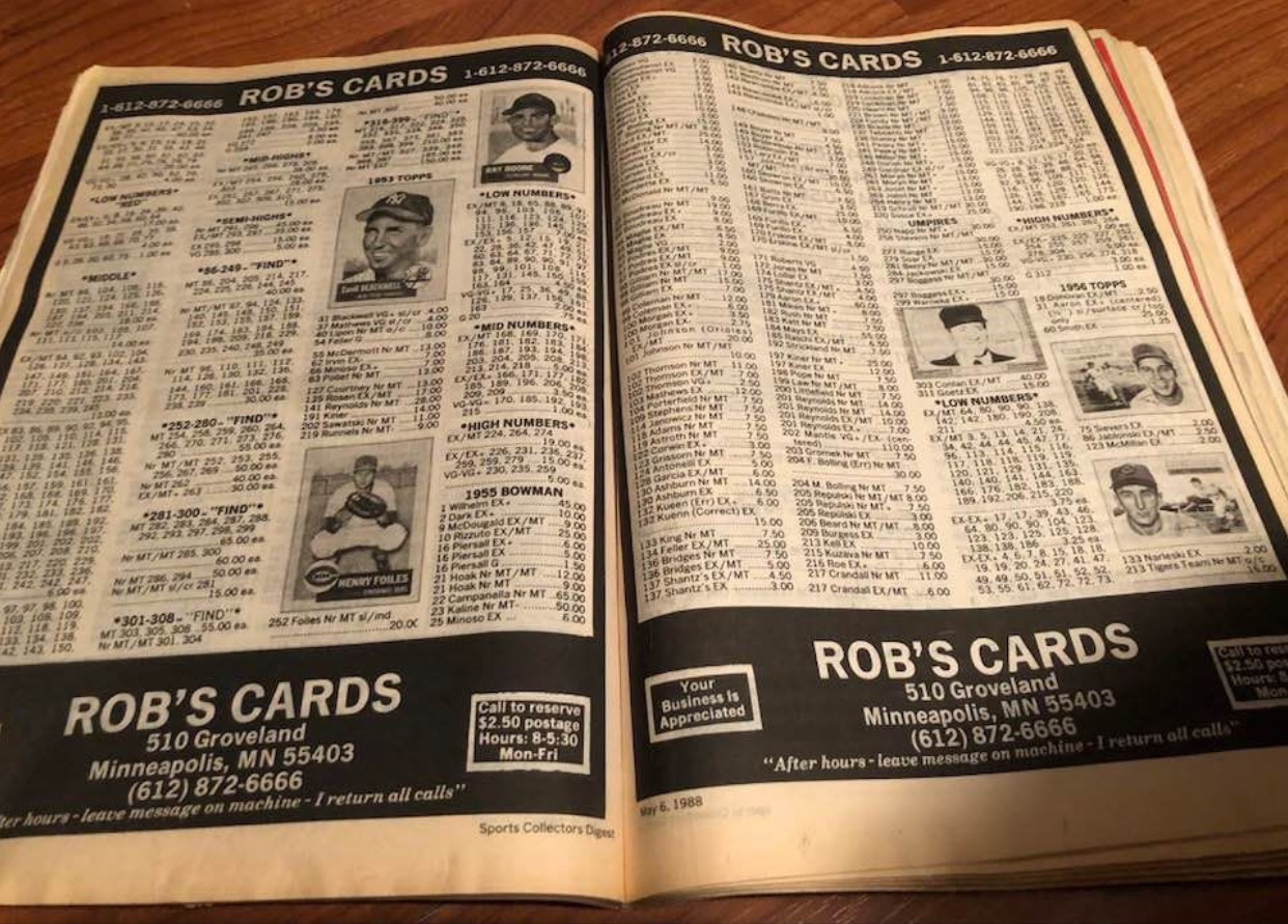 Our Advertisement from 1988!